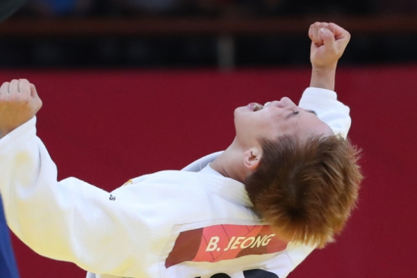 Korea wins 4 medals on Day 1 of judo
