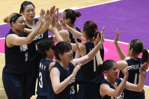 'Approved by mum' - Unified Korea trounce Taiwan to reach Asian hoops final