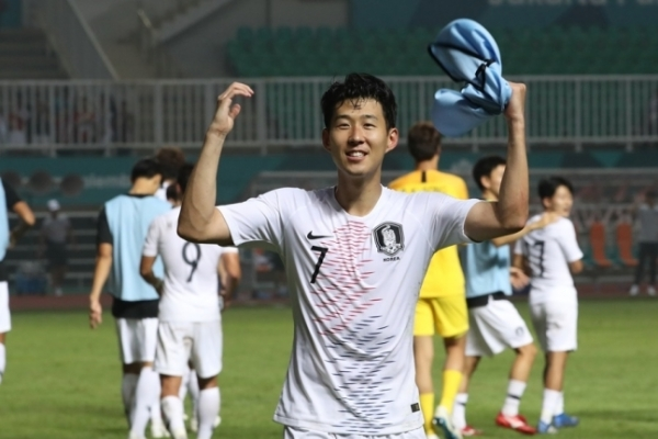 Son Heung-min vows to return Tottenham with gold, military service exemption