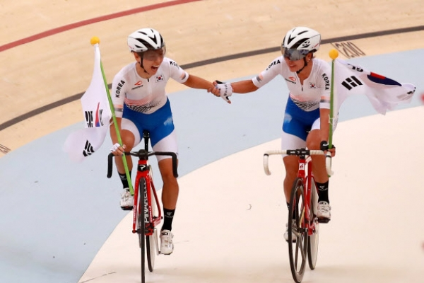 S. Korea collects 4 medals on last day of track cycling