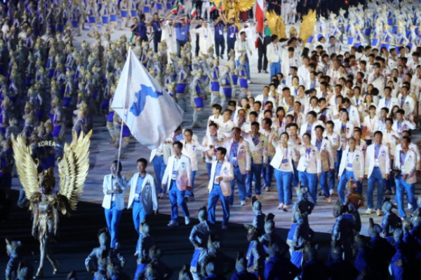 Unified Korean team delivers historic medals, hopes