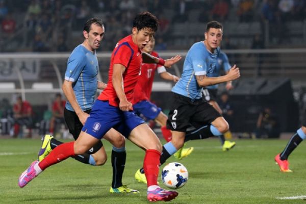 Korea confirm football friendlies with Uruguay, Panama, Uzbekistan