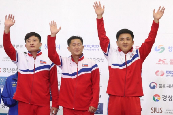 N. Korea wins 1st medal at shooting world championship in S. Korea