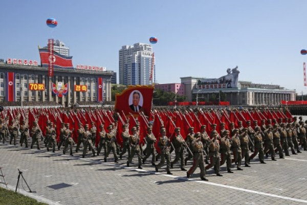 [Photo News] North Korea celebrates 70th anniversary
