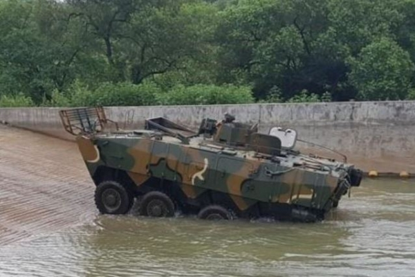 New wheeled armored vehicle to be mass-produced later this year
