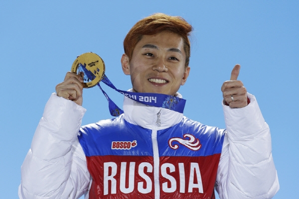 Speedskater Viktor Ahn dismisses rumors about post-retirement plan