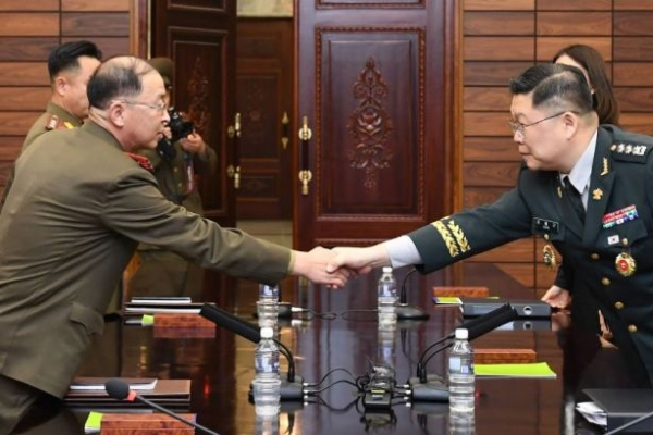 Two Koreas hold military talks ahead of upcoming summit