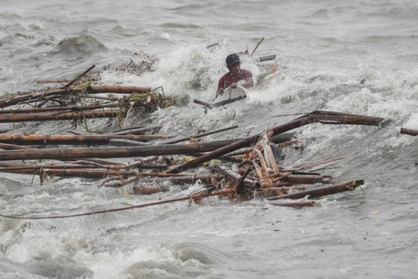 Two confirmed deaths in Philippines super typhoon: police