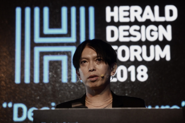 [Herald Design Forum 2018] Liberated from strictures of structure, Junya Ishigami begets new realms of nature