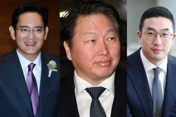 [Newsmaker] Three chaebol chiefs join Moon's Pyongyang trip