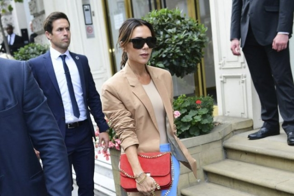 London fashion: Beckham comes home; Mouret shows 'new sexy'