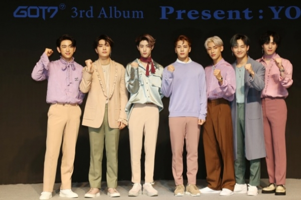 GOT7's new album lands atop iTunes charts in 25 countries