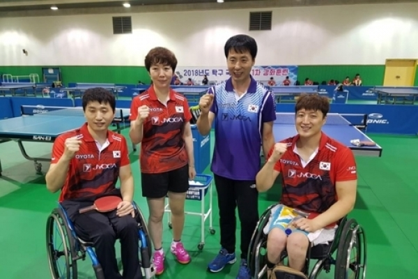Koreas looking to form joint teams in table tennis, swimming at Asian Para Games
