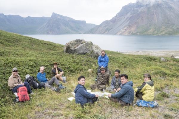 [Herald Interview] Trekking on sacred Paektusan highlands