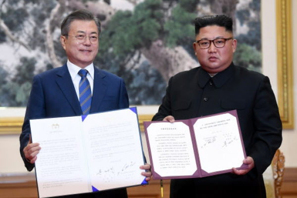 Key points of Kim's commitments explained by Moon