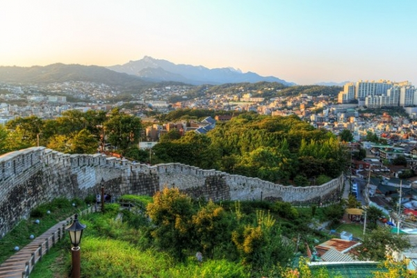 Taking in Seoul's hidden gems along Fortress Wall