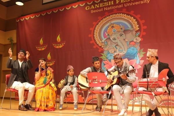 Indian community celebrates Hindu deity's birthday