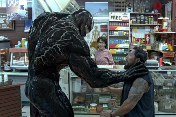 [Herald Review] 'Venom' is a little fun...If you forget that it's a Venom film