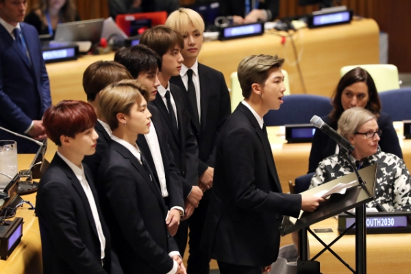[Weekender] What's behind BTS' iconic message of 'Love Yourself'