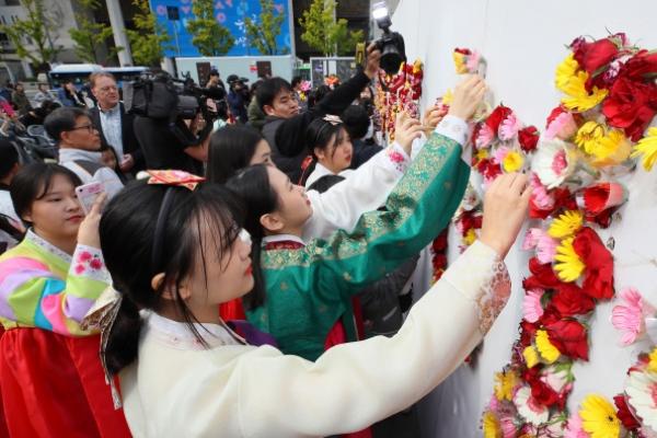 [Photo News] 572nd anniversary of Hangeul