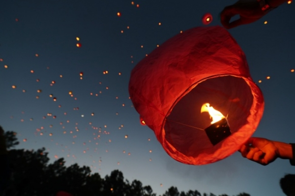 'Sky lantern caused Goyang oil storage fire': police