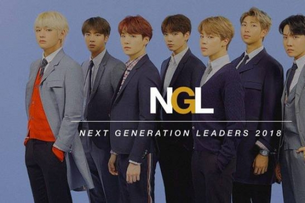 Time honors BTS as 'Next Generation Leaders'