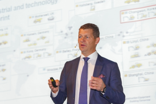 [Herald Interview] Volvo CE president highlights Korea as global excavator hub