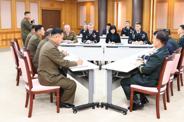 Two Koreas, UN Command agree to withdraw firearms, guard posts by Thursday