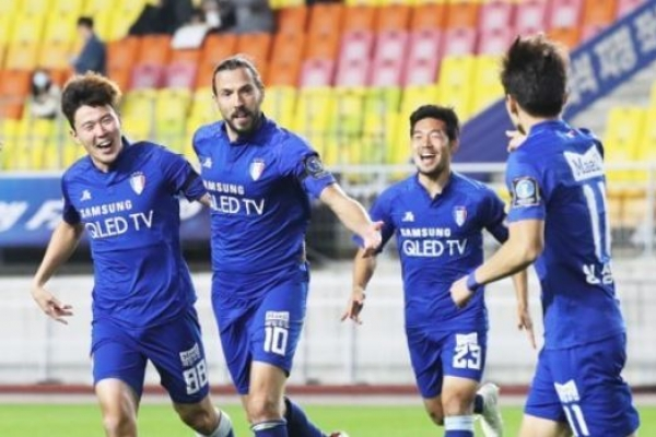 Suwon coach determined to make 2nd leg comeback vs. Kashima in ACL semis