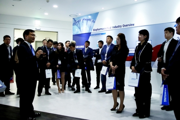 [Photo News] Industry visit to Samsung BioLogics
