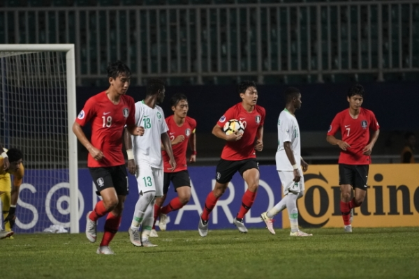 Korean U-19 football team returns home with youth World Cup