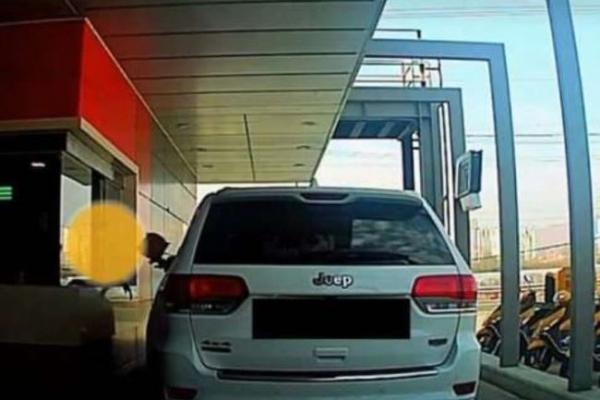 McDonald's customer says 'stress from work' made him hurl bag of food