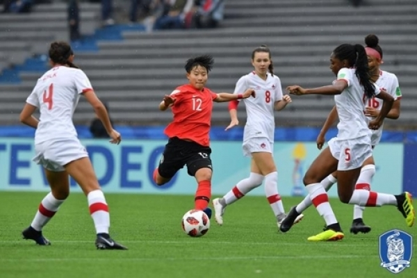 Korea knocked out of group stage at FIFA U-17 Women's World Cup