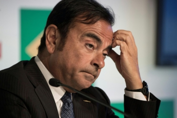 [Newsmaker] Auto titan Ghosn under arrest, faces ouster at Nissan