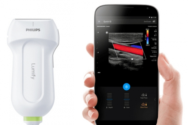 Philips' portable ultrasound machine for smart devices arrives in Korea