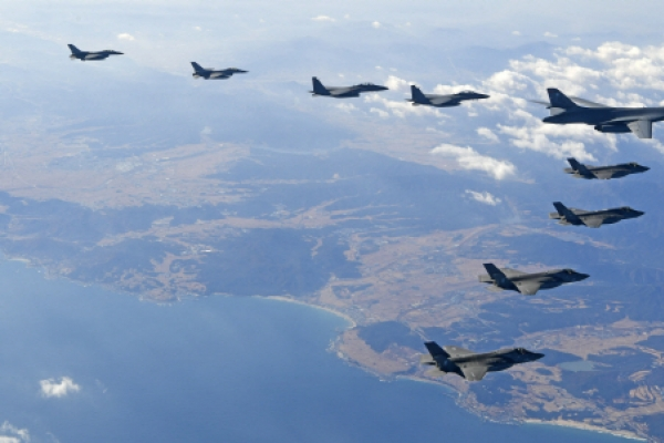 S. Korea kicks off new air drill to replace joint exercise with US
