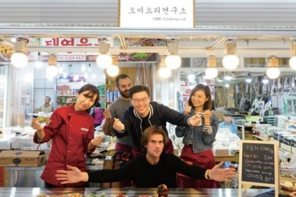 Seoul develops cooking class in English at Korean traditional market