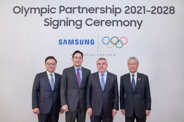 Samsung decides to extend Olympic sponsorship until 2028