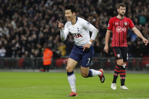 Son Heung-min scores 100th goal in pro career