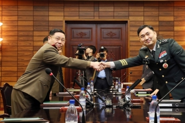 Koreas agree to verify removal of 22 guard posts next week