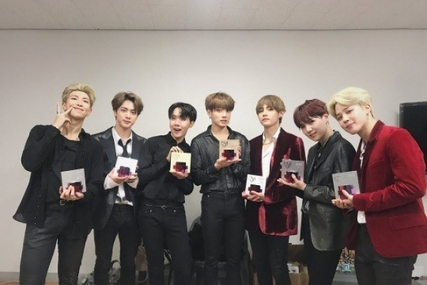 BTS becomes 1st K-pop act to be on Bloomberg 50