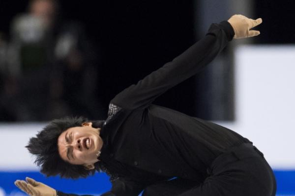 S. Korean figure skater Cha Jun-hwan wins bronze at Grand Prix Final
