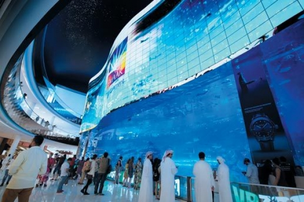 LG installs digital signage in Delhi's largest shopping mall