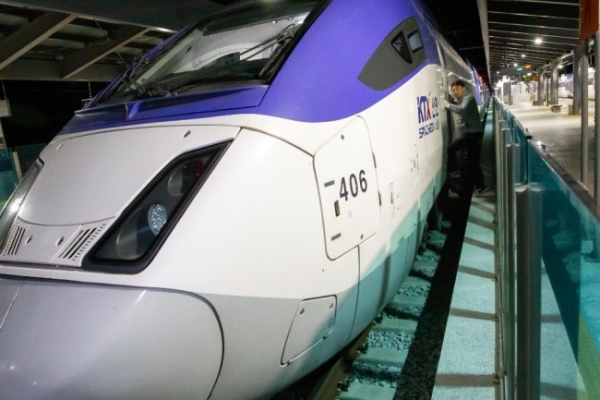 Korail resumes KTX Gangneung service