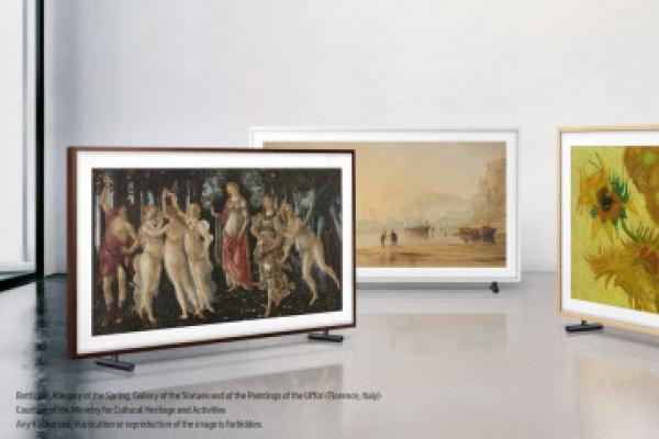 Samsung expands number of artworks displayed on The Frame TVs to 1,000