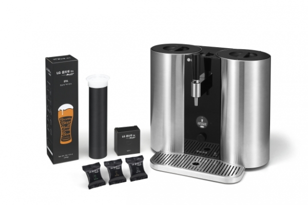 LG to unveil home-brewing machine at Las Vegas trade show