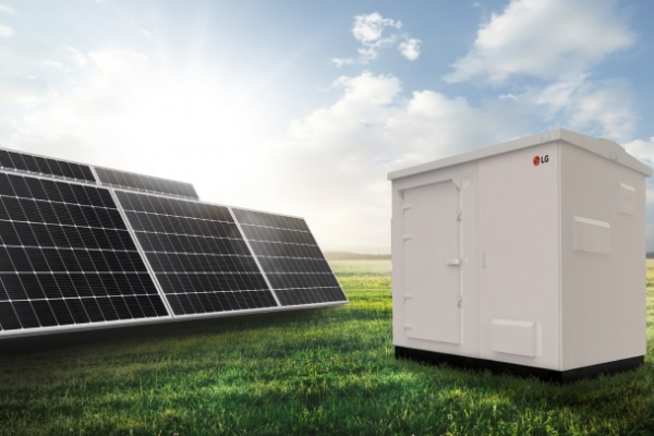 LG launches 100-kW ESS for solar systems