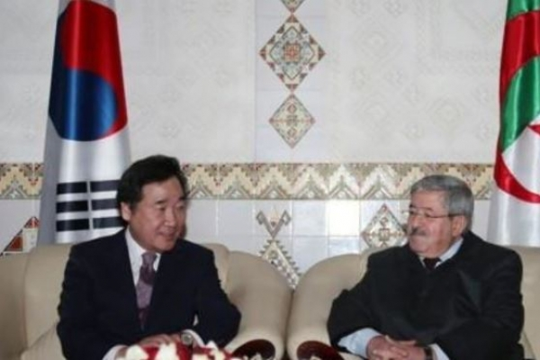 Korean PM vows to solidify trade and exchange with Algeria