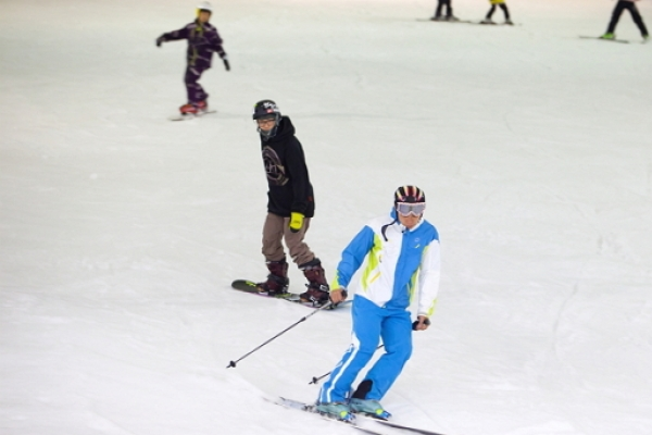 [Weekender] Don't let the cold stop you: indoor winter sports