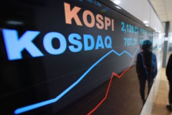Seoul shares up on institutional buying